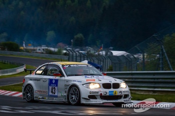 #43 Adrenalin Motorsport BMW E82 GTS (SP8): Thomas Ahles, Andreas Winkler, Frank Thomas, Thorsten Kratz