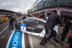 #1 Phoenix Racing Audi R8 LMS ultra (SP9): Mike Rockenfeller, Marcel Fässler, Frank Stippler, Markus Winkelhock