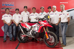 The Honda Racing Team announces driver lineup for 2014 Dakar