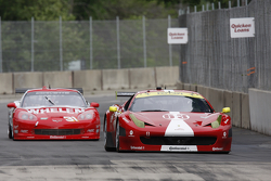 #63 Scuderia Corsa Ferrari 458: Jeff Westphal, Alessandro Balzan #31 Marsh Racing Corvette: Boris Said, Eric Curran