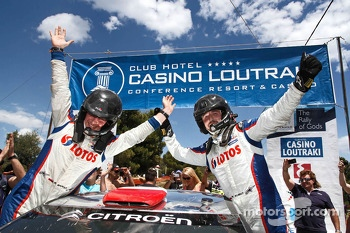 WRC2 winners Robert Kubica and Maciek Baran, Citroën DS3 WRC
