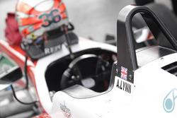 Cockpit of Alex Lynn