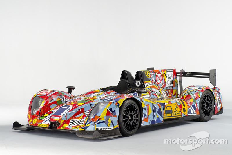 #35 LMP2 OAK Racing Costa Art Car unveiled