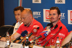 Press conference,  James Thompson, Lada Granta, LADA Sport Lukoil