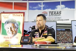Michael Andretti in a sub eating contest