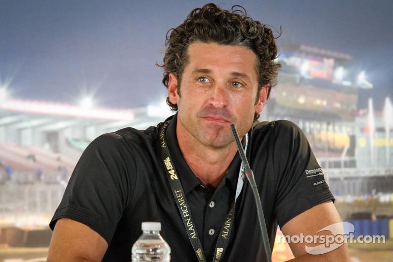 Dempsey Racing press conferece: Patrick Dempsey