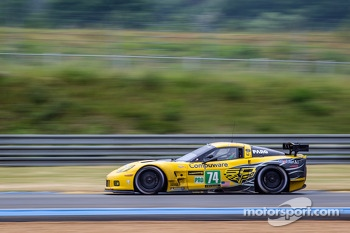 #74 Corvette Racing Corvette C6.R: Oliver Gavin, Tom Milner, Richard Westbrook