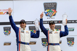Race winners Christian Fittipald and Joao Barbosa