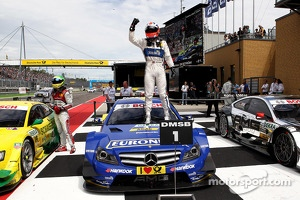 Lausitzring race winner Gary Paffett, Mercedes AMG DTM-Team HWA DTM Mercedes AMG C-Coupe