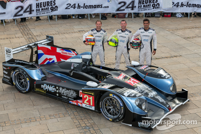 #21 Strakka Racing HPD ARX-03c: Nick Leventis, Jonny Kane, Danny Watts