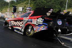 Courtney Force and John Force