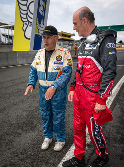 Dr. Wolfgang Ullrich shares a laugh with an official
