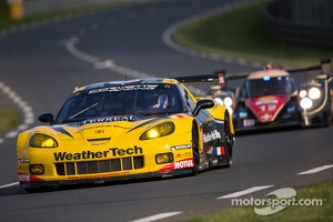 #70 Larbre Compétition Corvette C6.R: Philippe Dumas, Manuel Rodrigues, Cooper MacNeil