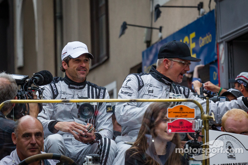 Patrick Dempsey and Joe Foster