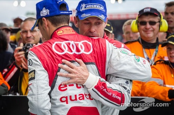Loic Duval and Tom Kristensen