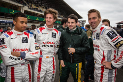 Jann Mardenborough, Lucas Ordonez, Tom Kimber-Smith and Michael Krumm