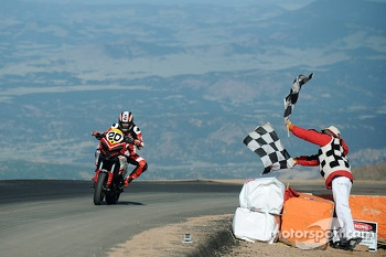 #20 Ducati: Bruno Langlois takes the checkered flag at the summit