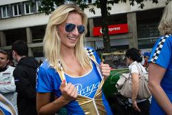 A Lotus Praga girl