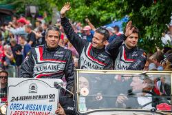 Luis Perez-Companc, Nicolas Minassian, Pierre Kaffer