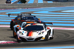 #11 ART Grand Prix: Antoine Leclerc, Mike Parisy, Andy Soucek, McLaren MP4-12C