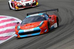 #55 Mtech Racing: Fabian Taraborelli, Alejandro Chahwan, Andres Josephsohn, Ferrari 458 Italia