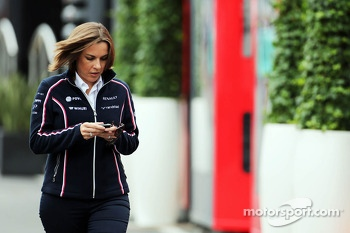 Claire Williams, Williams Deputy Team Principal