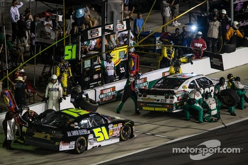 Pit stop for Ty Dillon and Jeremy Clements