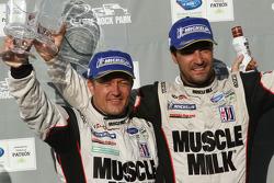 Race winners Klaus Graf, Lucas Luhr