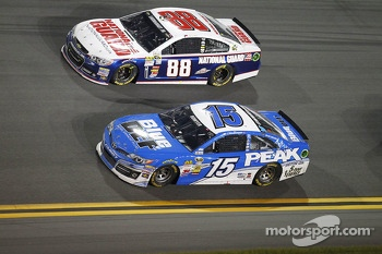 Clint Bowyer and Dale Earnhardt Jr.