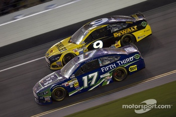 Ricky Stenhouse Jr. and Marcos Ambrose