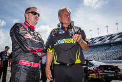 Jeff Burton, Richard Childress Racing Chevrolet and Jimmy Fennig