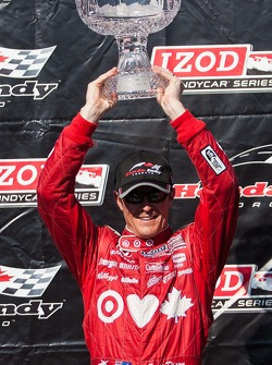 Scott Dixon, Target Chip Ganassi Racing Honda Target Chip Ganassi Racing Celebrates