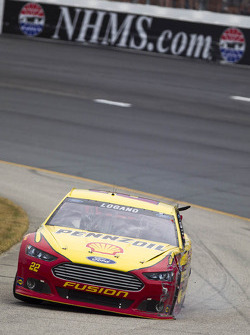 NASCAR-CUP: Crash for Joey Logano, Penske Racing Ford