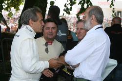 Jacky Ickx, René Arnoux, Jean Ragnotti, Henri Pescarolo