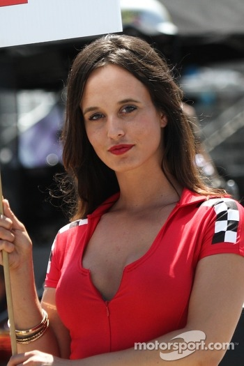 A lovely grid girl