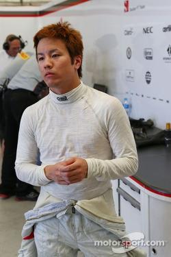 Kimiya Sato, Sauber Test Driver