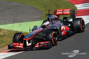 Gary Paffett, McLaren  MP4-28 Test Driver