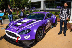 The new TRG Aston Martin GT3 at Yahoo! Headquarters