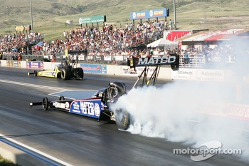 Antron Brown and Morgan Lucas