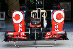 McLaren MP4-28 front wing and sidepod
