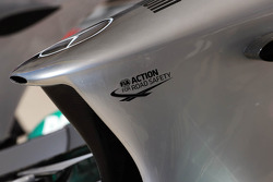 Mercedes AMG F1 W04 nosecone