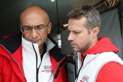 Gabriele Tarquini, Honda Civic, Honda Racing Team J.A.S.  and Tiago Monteiro, Honda Civic Super 2000 TC, Honda Racing Team Jas