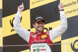 Race winner Mike Rockenfeller