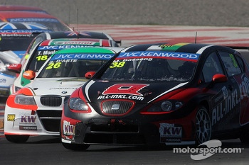 Stefano D'Aste, BMW 320 TC, PB Racing and Marc Basseng, SEAT LeonWTCC, ALL-INKL.COM Munnich Motorsport