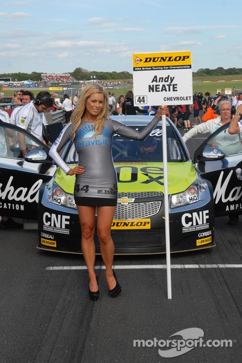 Team Club 44 Grid Girl