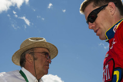 Carl Edwards and Jack Roush