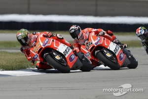 Andrea Dovizioso and Nicky Hayden, Ducati Team