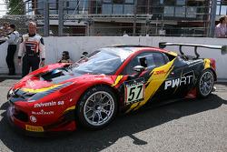 #57 Sport Garage Ferrari 458 Italia: Wilfried Merafina, Manu Orgeval, Pierre Perret, Michael Petit