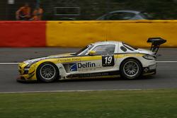 #19 Black Falcon Mercedes SLS AMG GT3: Andrii Lebed, Sergei Afanasiev, Andreas Simonsen, Francesco Castellacci