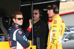 Marco Andretti, Andretti Autosport Chevrolet and Ryan Hunter-Reay, Andretti Autosport Chevrolet